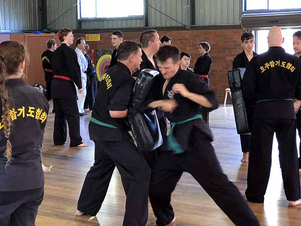 AHA Hapkido Martial Arts Myuna Camp 2018